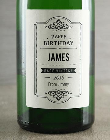 Personalised Sparkling Wine