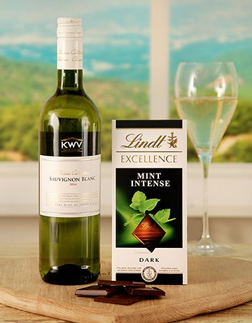 Sensational Lindt Chocolate and Wine Duo