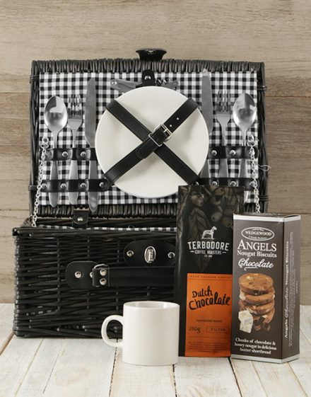 Coffee Lovers Picnic Basket