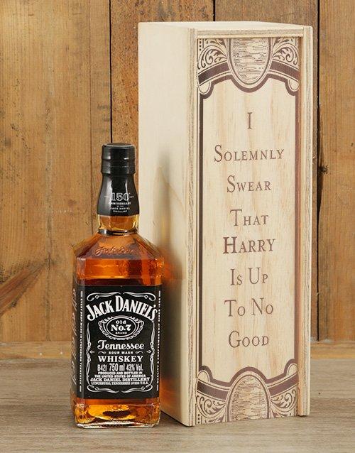 Personalised Jack Daniels Crate
