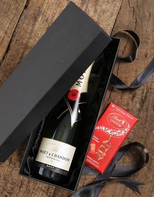 Moet & Lindt Gift Box