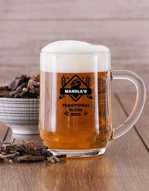 Personalised Brewing Beer Mug
