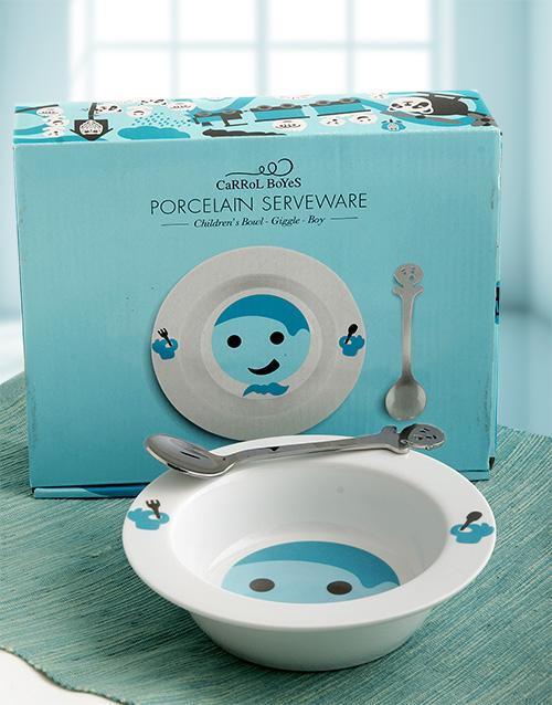 Carrol Boyes Giggle Bowl Gift Set for Boys