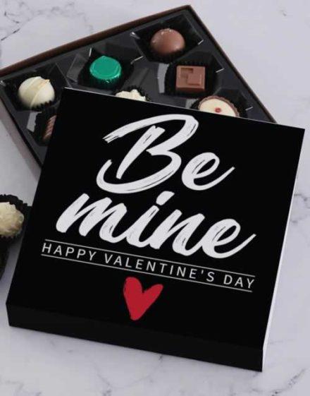 Be Mine Valentines Chocolate Tray