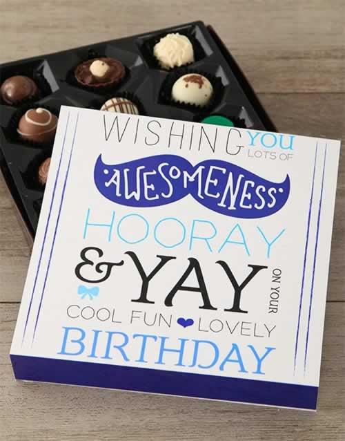 Birthday Wishes Chocolate Box