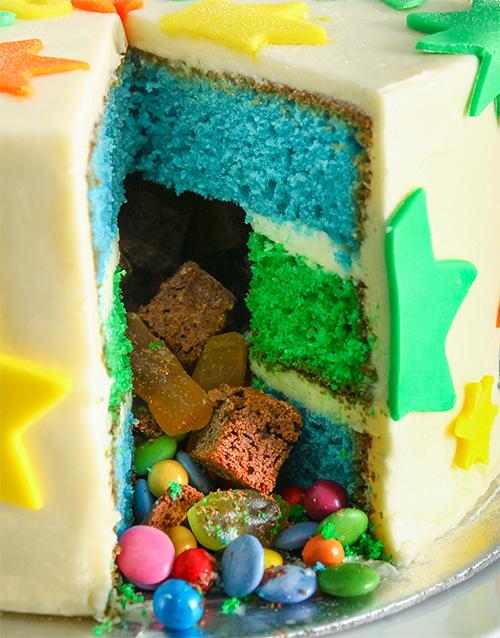Personalised Special Star Pinata Cake 20Cm