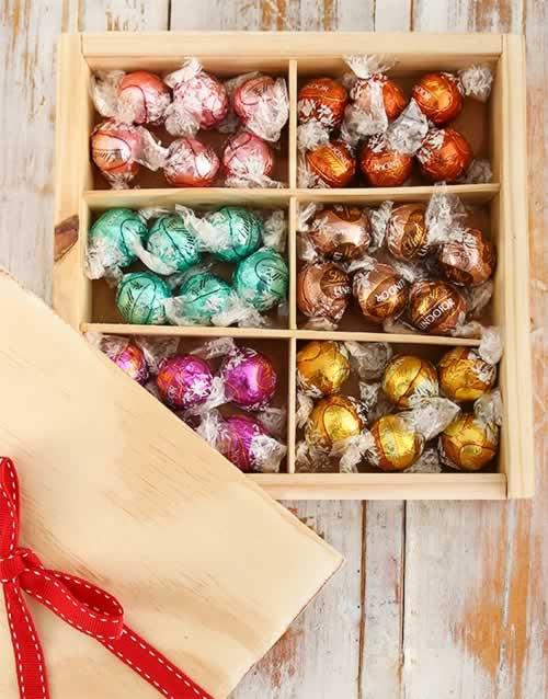 Lindt Chocolate Treasure Box