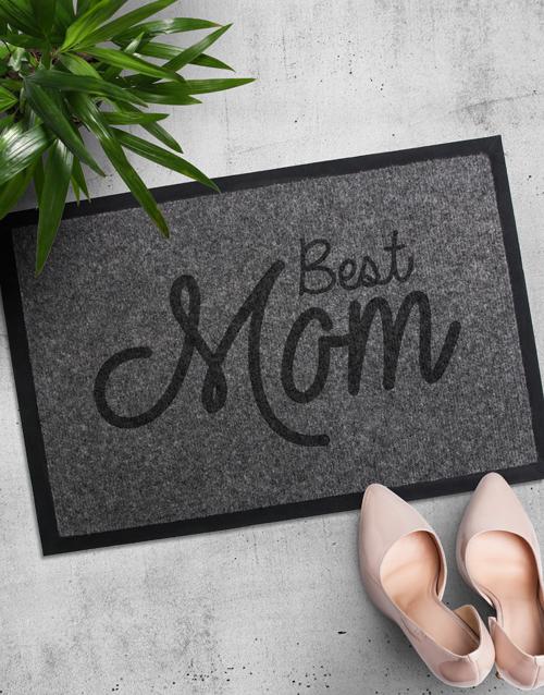 Personalised Best Mom Door mat