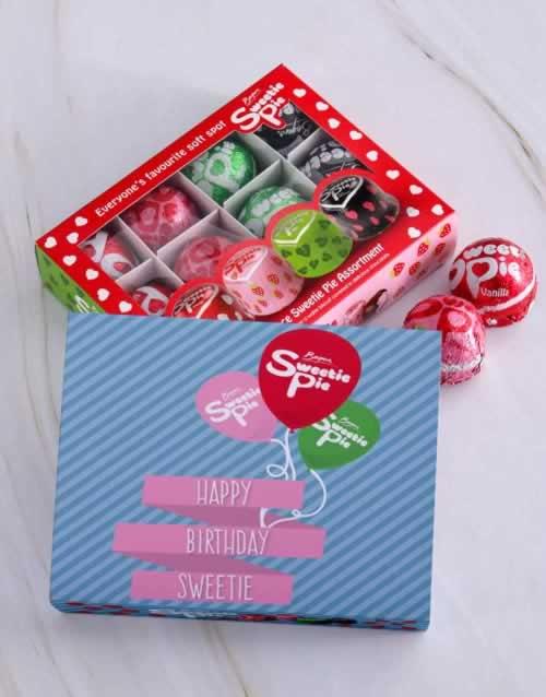 Personalised Birthday Sweetie Pie Box