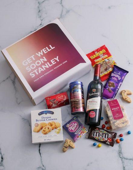 Personalised Get Well Gourmet Gift