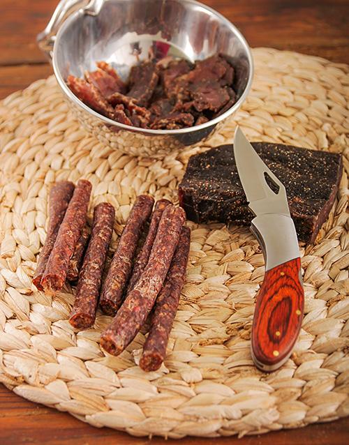 Biltong And Utility Knife Gift Set