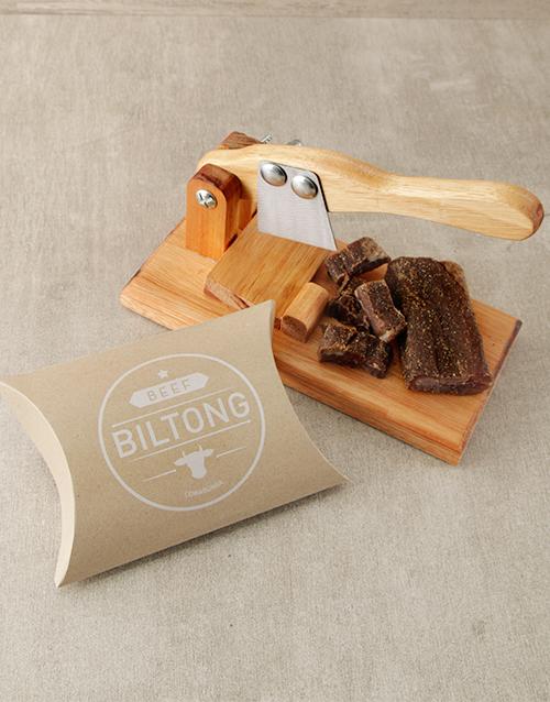 Small Biltong Cutter With Biltong Gift