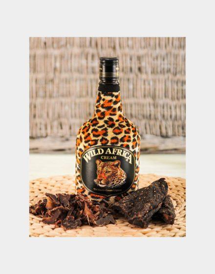 Wild Africa Liqueur With Biltong