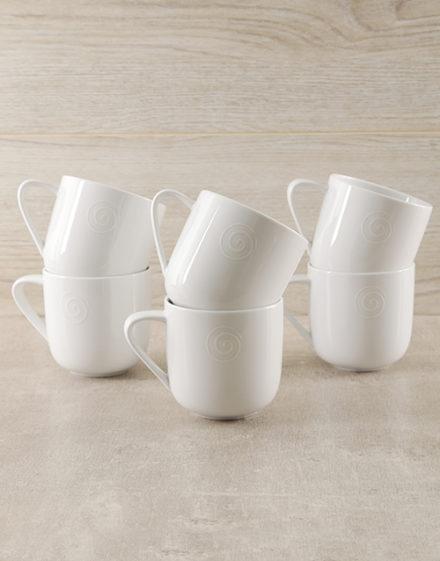 Carrol Boyes Swirl Mugs