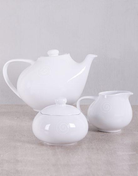 Carrol Boyes Swirl Tea Set