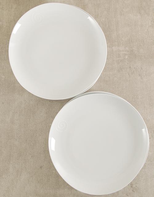 Carrol Boyes Swirl Dinner Plate Set