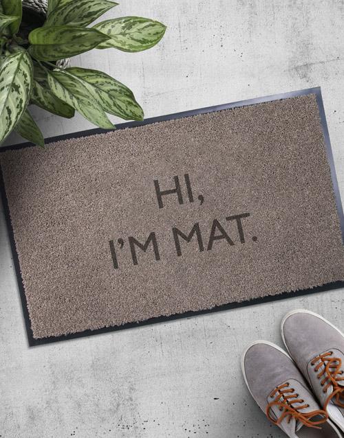 Im Mat Door Mat