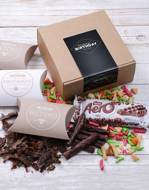 Birthday Biltong Box