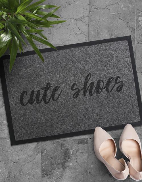 Cute Shoes Door Mat