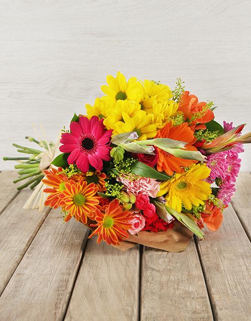 Mother's Day Vibrant Flower Gift Arrangment