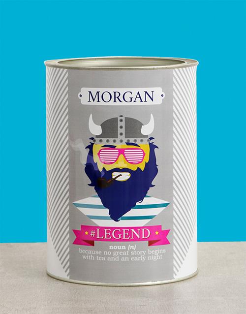 Legend Bro Bucket Personalised Gift