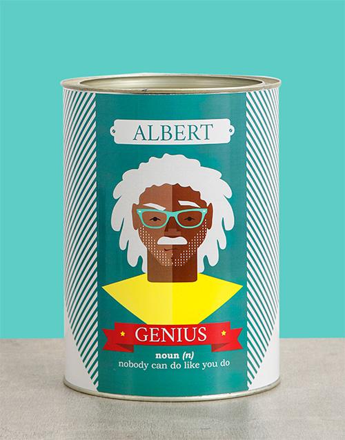Genius Bro Bucket Personalised Gift