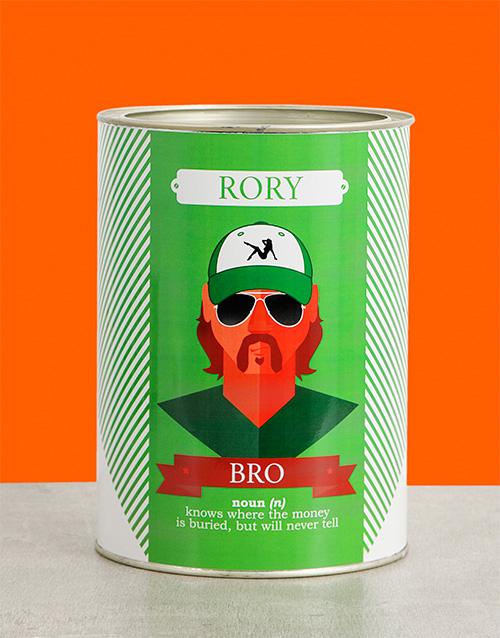 Bro Bro Bucket Personalised Gift
