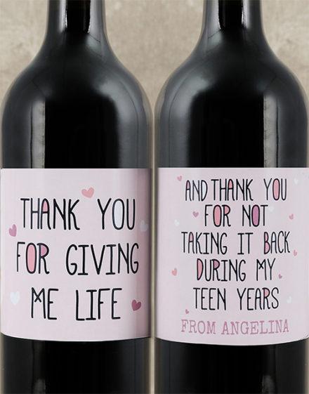 Life Personalised Wine Duo