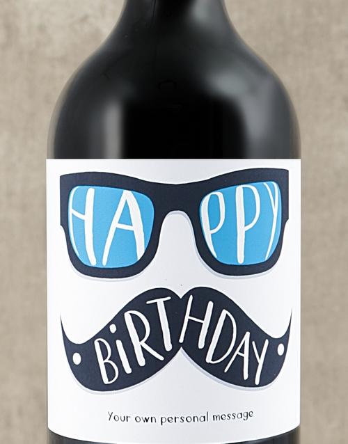 Birthday Glasses Personalised Wine