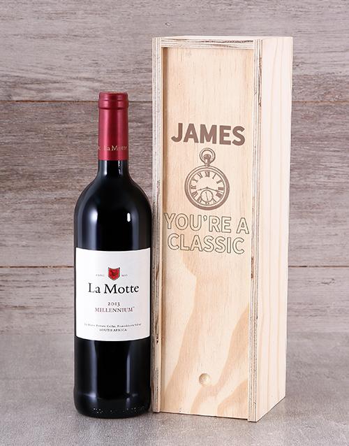 Classic Personalised Wine Crate
