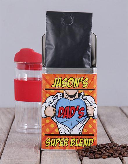 Megadad Personalised Coffee Gift Tin