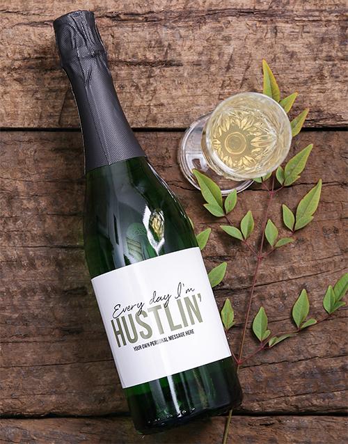 Hustlin Personalised Wine Hamperlicious