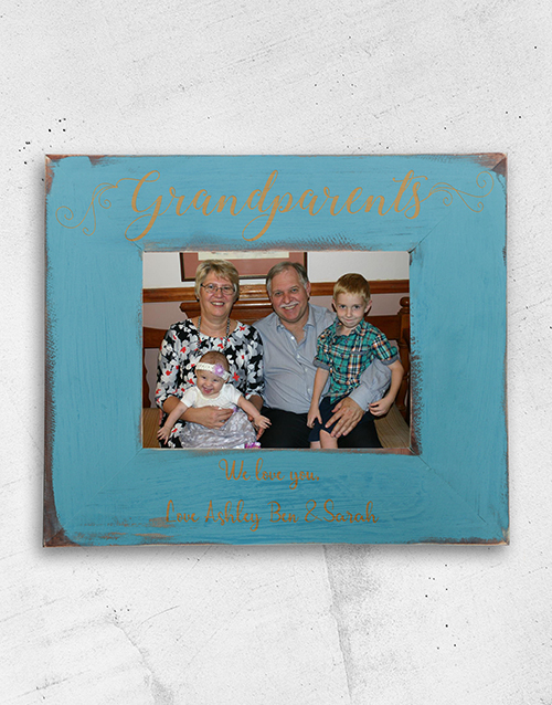 Grandparents Frame Personalised By You