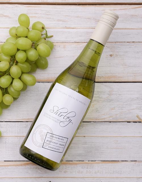 Chardonnay Personalised Wine