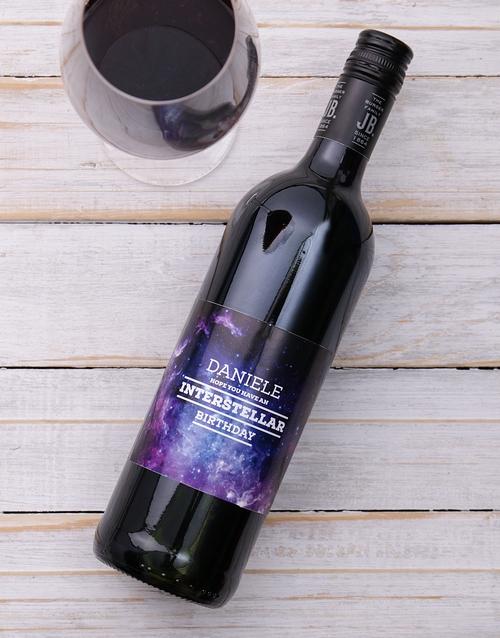 Birthday Personalised Wine Shiraz