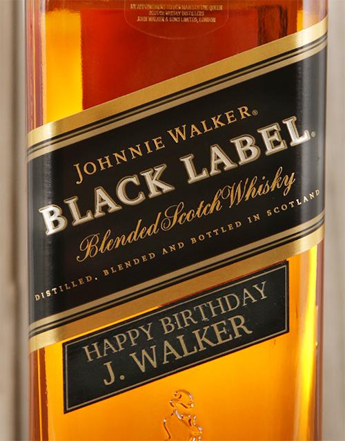 Mother's Day Personalised Johnnie Walker Black