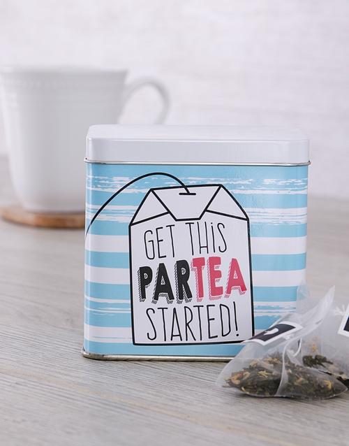 ParTea Personalised Tea Gift Tin