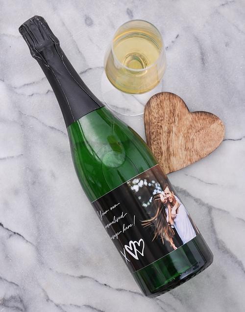 XO Photo Personalised Wine