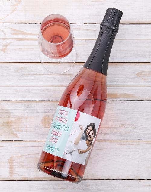 Favouritest Photo Personalised Wine
