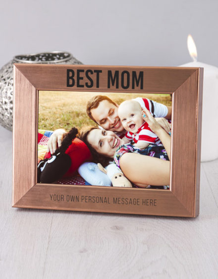 Best Mom Photo Frame Personalised By You
