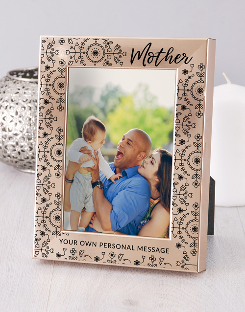 Mother Photo Frame Personalised By You