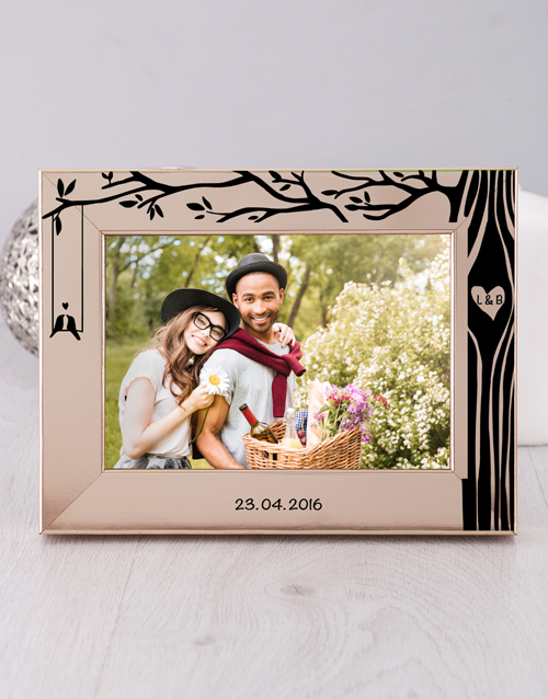 Tree Photo Frame Personalised By You