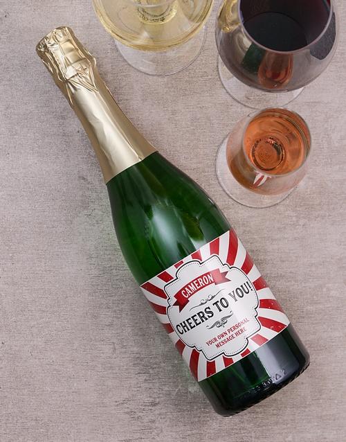 Cheers Personalised Wine