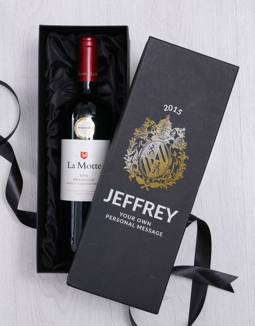 Crest Personalised Wine Giftbox