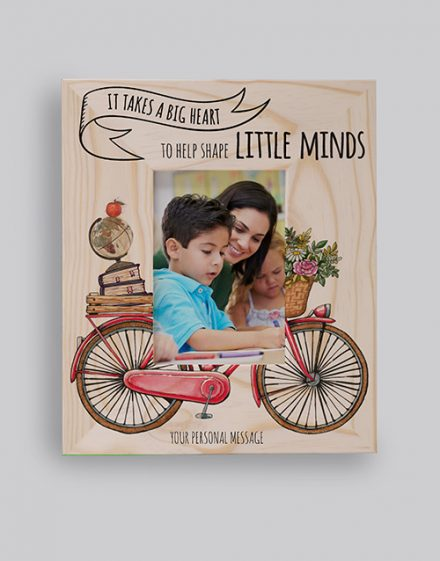 Little Minds Photo Frame Personalised By You