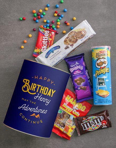 Birthday Adventures Bro Bucket Personalised Gift