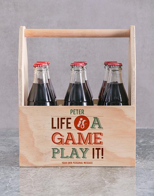 Game of Life Printed Beer Crate Personalised Gift