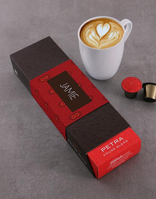 Petra Kahve Road Personalised Coffee Pods