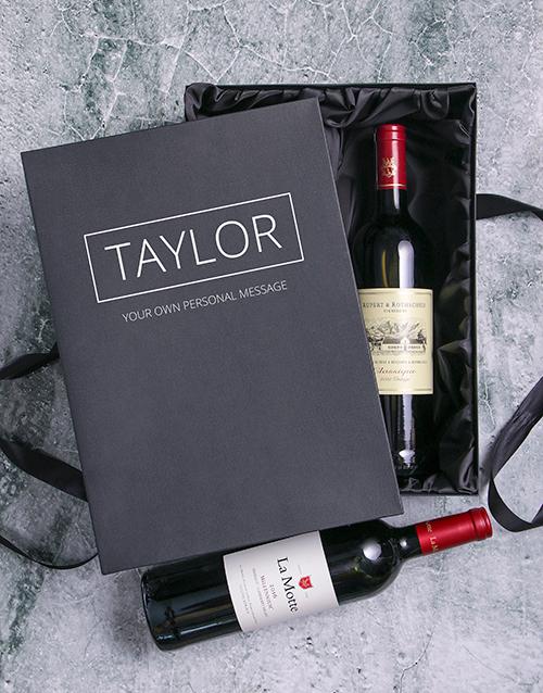 Rothschild and Millennium Personalised Wine Duo