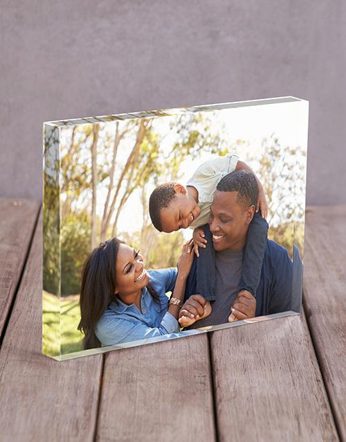 Photo Upload Acrylic Block Personalised By You